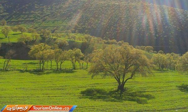 توسعه گردشگری کشاورزی در شهرستان قروه