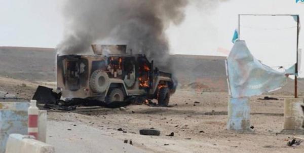 انفجار بمب در جهت کاروان ائتلاف آمریکا در عراق