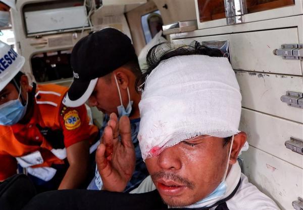 خونین ترین روز میانمار با 7 کشته در اعتراضات سراسری
