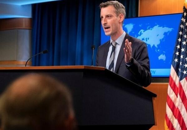 آمریکا: در حال حاضر انتظار نداریم با ایران مصاحبه کنیم