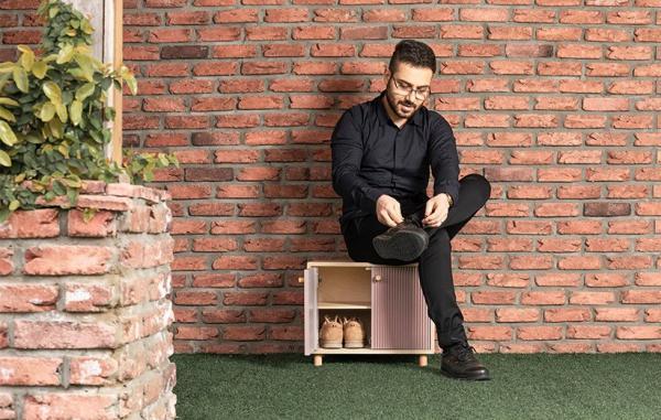 [گالری عکس] جاکفشی سو مدل NEN؛ راه حلی زیبا برای خانه های کوچک