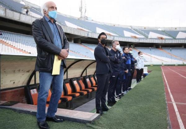 عبداللهی: مصدومان استقلال به دربی می رسند، مجیدی درباره اضافه شدن دستیار تصمیم می گیرد