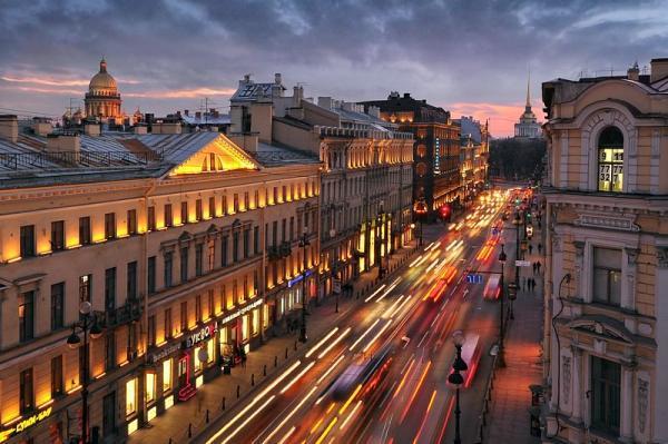 خیابان نوسکی، معروف ترین خیابان روسیه، عکس