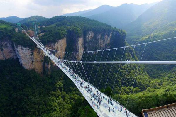 افتتاح طولانی ترین پل معلق دنیا، فیلم