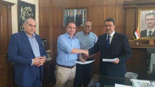 قبرس سفارت در دمشق افتتاح می کند
