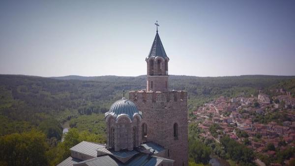 کارت پستال از بلغارستان؛ قلعه تسارووت گنجینه ملی بلغارها
