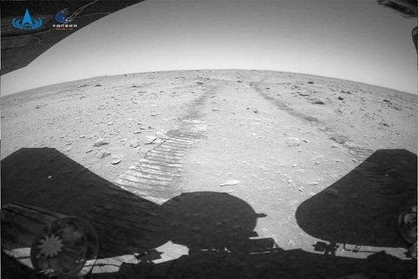 چین تصاویر جدیدی از مریخ منتشر کرد