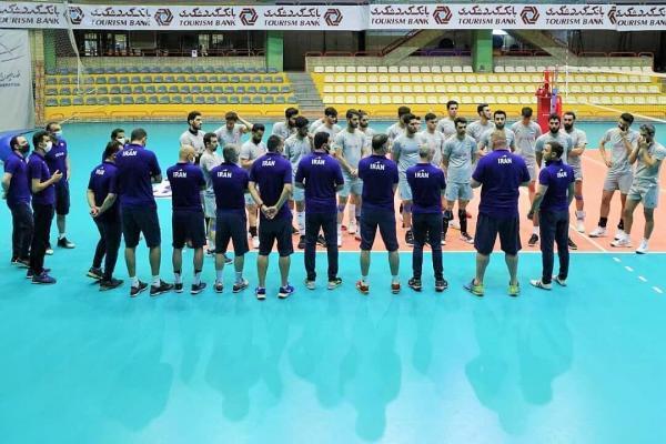 لحظه شماری برای رونمایی از تیم ملی والیبال در لیگ ملت ها؛ آماده سازی مهم پیش از المپیک
