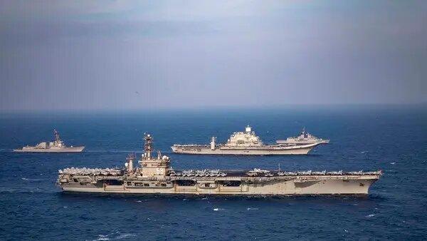 چین رزمایش دریایی آمریکا و استرالیا را محکوم کرد