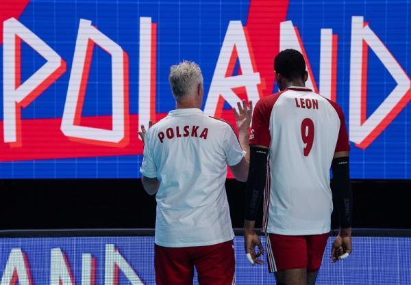 لیگ ملت های والیبال، لهستان به صدر جدول رسید، ایران در صندلی پنجم