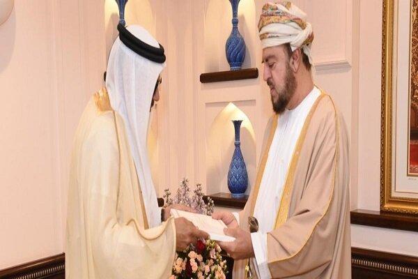تور عمان: سلطان عمان نامه ای از پادشاه بحرین دریافت کرد